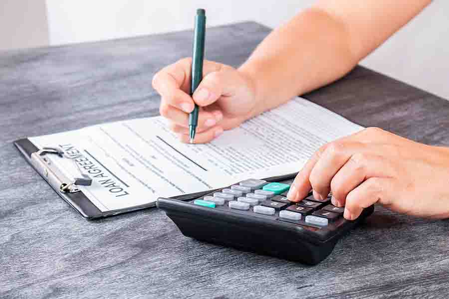 signing of unsecured loan from authorised moneylender